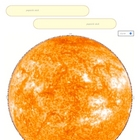 Moon Size Earth Size Sun SURFFDOGGY