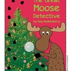 Moose Theme Winter Holiday Party: Scavenger Hunt, Literacy