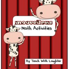 'Moovellous' Math Farm Activities