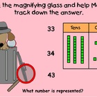 Mope Tracks Down Place Value (SmartBoard Lesson)