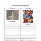 Morandi vs Caulfield Bottles Worksheet