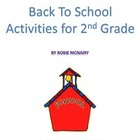More Back to School Activities
