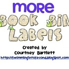 More Book Bin Labels