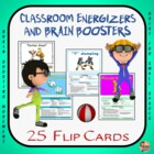 """More"" Classroom Energizers, Movement and Activity Breaks"