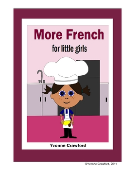 More French for Little Girls Workbook