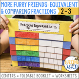 More Furry Friends Fractions Pack: Equivalent and Comparin