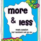 More &amp; Less Math Station
