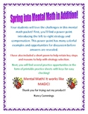 More Mental Math Fun With Addition: Perk up those Spring M