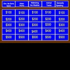 More Science Jeopardy