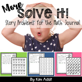 More Solve This - Math Journal Story Problems