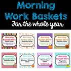Morning Basket Work Bundle {August-May}