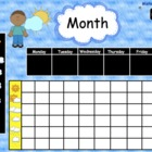 Morning Calendar Routine Math SMARTBoard  83 Page Common C