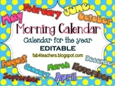 Calendar {EDITABLE} and Comm. Arts Time!