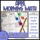 Grade 3 Morning Math Review: April
