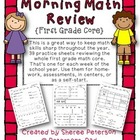 Morning Math Review {First Grade}