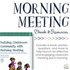 Morning Meeting Packet