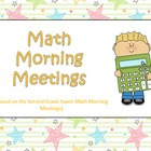 Morning Meetings Second Grade Powerpoints 135 Meeting Slid