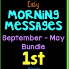 Morning Message: Year Bundle - 1st Grade