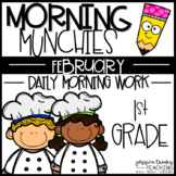 Morning Munchies {1st Grade Morning Work - February}
