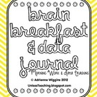 Morning Work &amp; Data Journal