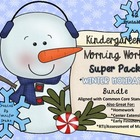 Morning Work ~Kindergarten~ Winter Holidays Super Pack~38