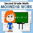 Morning Work Second Grade Math Common Core
