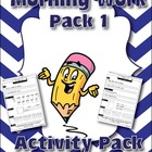 Morning Work /Spiral Review Pack 1