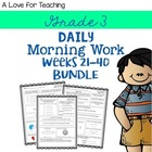 Morning Work Weeks 21-40 Combo Pack