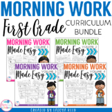 Morning Work for First Grade for the Entire Year (CCSS Aligned)