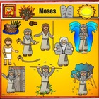 Moses Clip Art - Commercial Use License