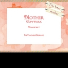 Mother Copywork - Manuscript