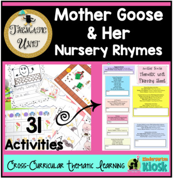 Mother Goose Nursery Rhymes Unit: Thematic Common Core Cur