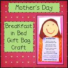 Mother&#039;s Day Breakfast in Bed Gift Bag