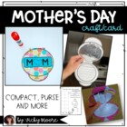 Mother's Day Compact Craftivity { Can be used for grandma/