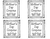 Mother's Day Coupon Book Adorable - Quick and Easy