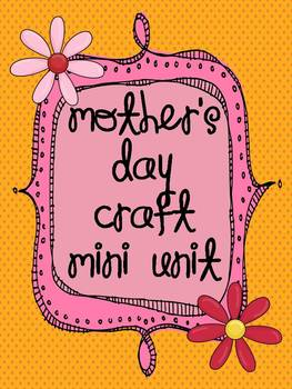 Mother's Day Craft Unit