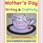 Mother's Day Craftivity {My Mom is Tea-riffic!}
