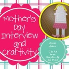 Mother&#039;s Day Craftivity &amp; Writing Activity