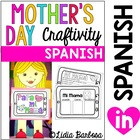 Mother&#039;s Day Craftivity and Student Book- Spanish