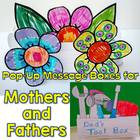 Mother&#039;s Day Craftivity,Pop-Up Message Flower Box