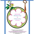 Mother's Day & Father's Day Activity