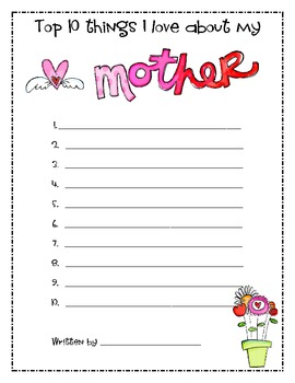 Mother's Day  & Father's Day Freebie