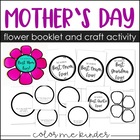 Mother's Day Flower Craft & Writing Activty
