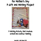 Mother's Day Gift Creative Writing and Critical Thinking: