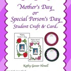 Mother&#039;s Day Gift Student Craft &amp; Card