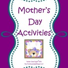 Mother&#039;s Day Gifts and Writing Activites