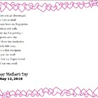 Mother's Day Handprint Poem Freebie