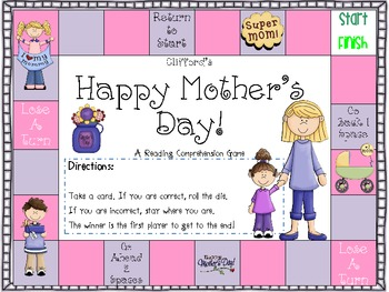 Mother's Day Literacy Unit