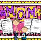 Mother&#039;s Day {Math Printables}