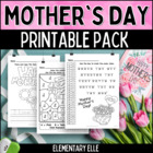 Mother's Day Math and Literacy Printable Pack